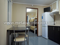 All-welded container unit kitchen